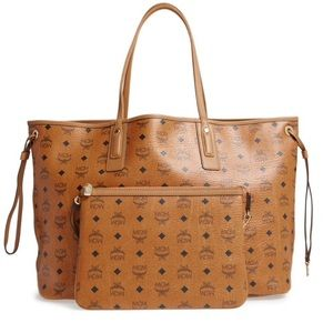 Large Liz Reversible Shopper MCM Tote